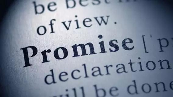 承诺的强大力量 越慎重的承诺能量越大