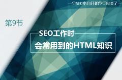 SEO工作时会常用到的HTML知识